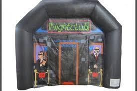 inflatable night club's